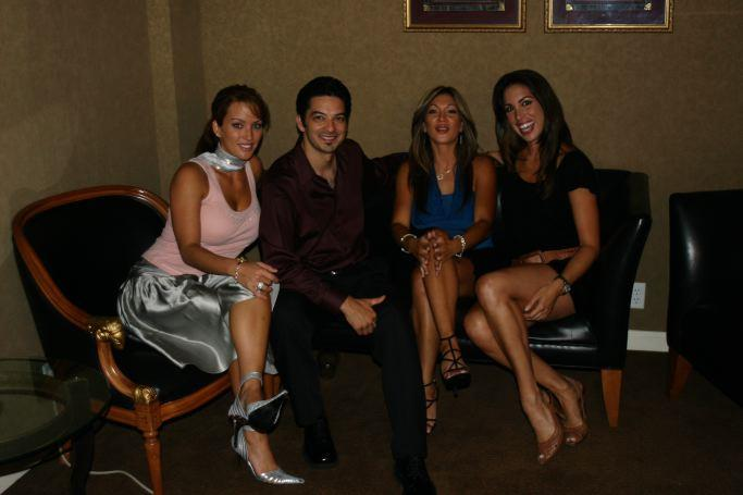 Carlos Xuma With Women