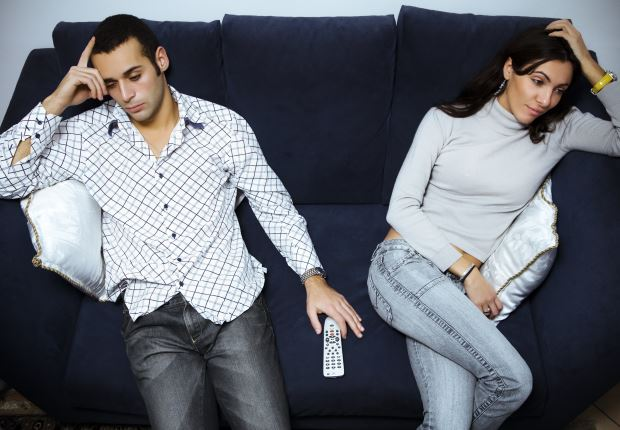 Couple Settling No Chemistry Relationship Fail