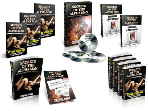 Alpha Male Secrets Cover Package