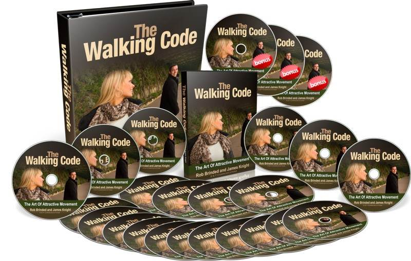 The Walking Code Cover