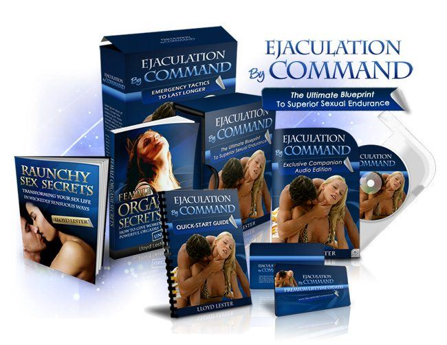 Ejaculation Command Product Cover