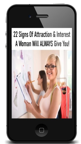 Woman Showing Interest Attraction
