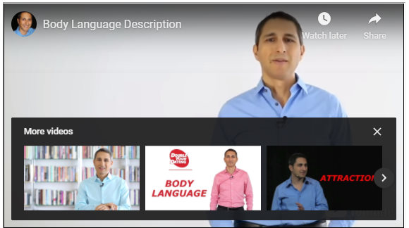 Body Language Video Thumbnail David DeAngelo