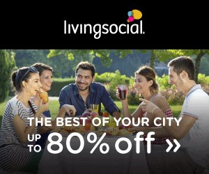 Living Social Explore City Deal Ad Banner